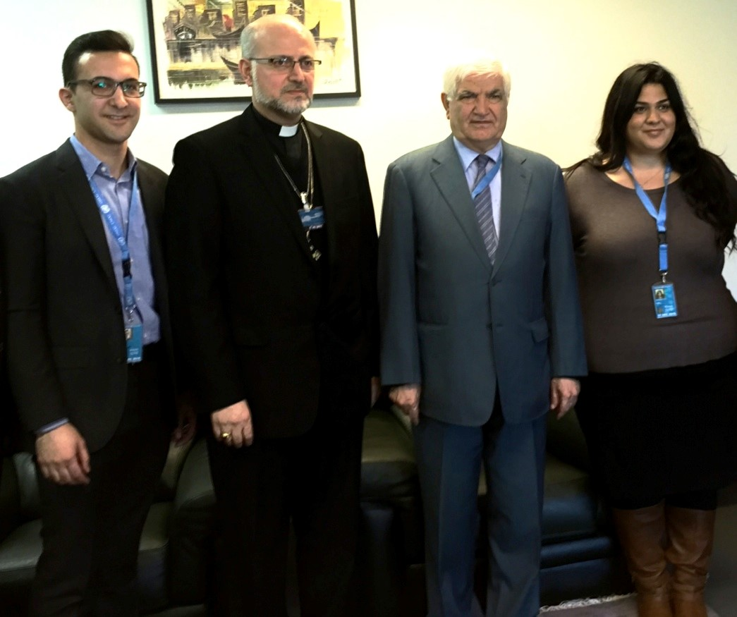 AUA Americas meets with the Iraqi Ambassador to the UN in Geneva His Excellency Mr. Mohammad Sabir Ismail